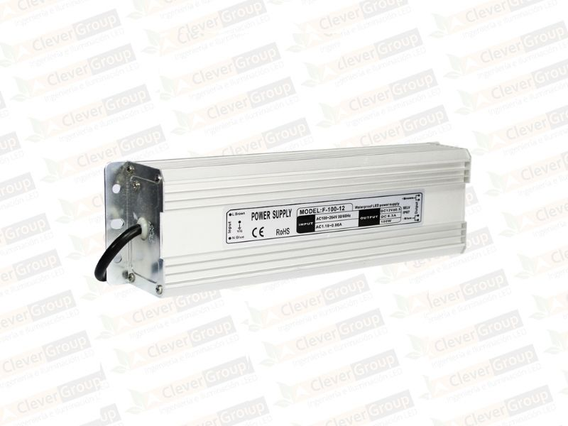 Driver Exterior 100W Clever Group