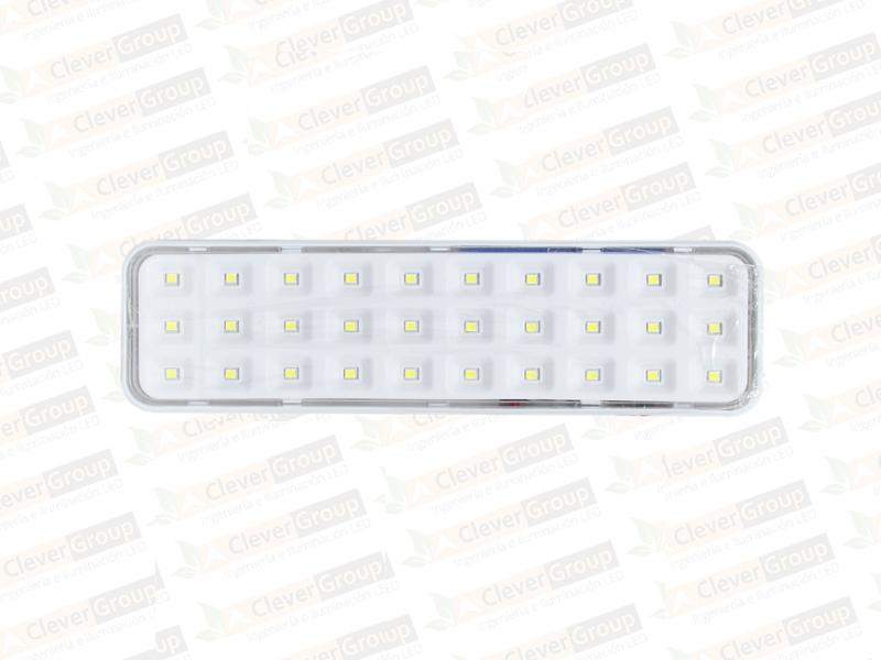 Lámpara de Emergencia 30 LED Clever Group