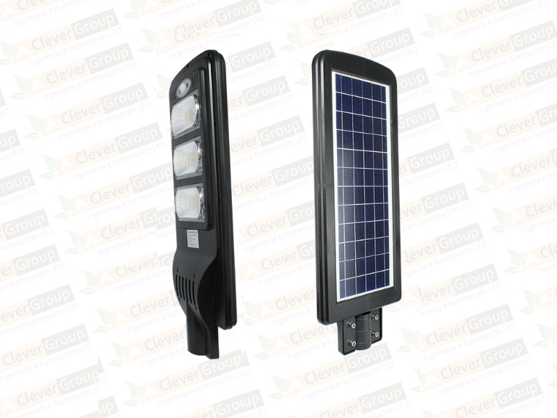 Luminaria Solar All In One (Integrada) 60W y 100W Clever Group